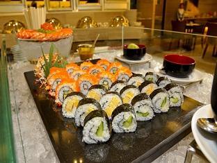 日本食もあるブッフェ